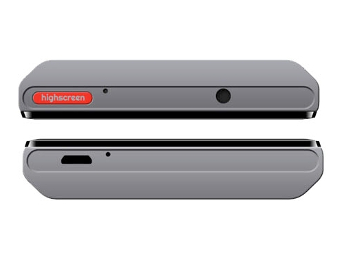 Смартфон Highscreen Boost 3 серый, вид 4