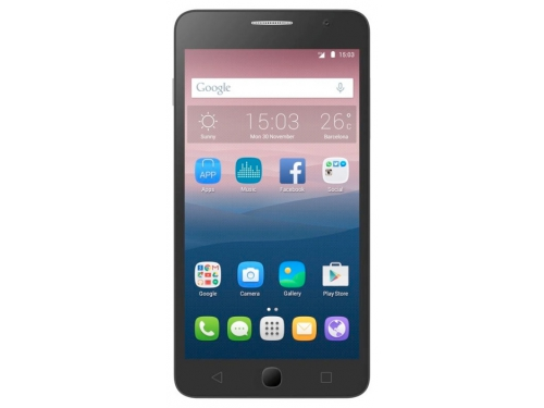 Смартфон Alcatel One Touch POP STAR 4G 5070D, серый, вид 2