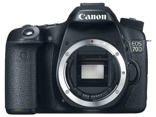 Цифровой фотоаппарат Canon EOS 70D (W) Body, вид 1