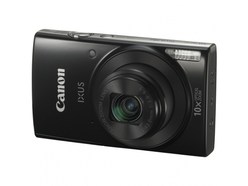 Цифровой фотоаппарат Canon Digital IXUS 180 Black, вид 1