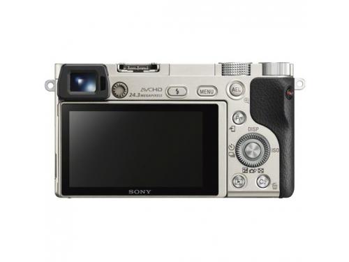 Цифровой фотоаппарат Sony Alpha A6000 Kit (SEL-1650), серебристый, вид 3