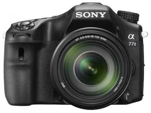 Цифровой фотоаппарат Sony Alpha ILCA-A77 II Kit 18-135, черный, вид 1
