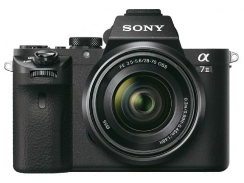 Цифровой фотоаппарат Sony Alpha A7 II (M2) (SEL-2870), черный, вид 2