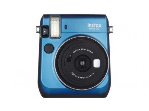 Фотоаппарат моментальной печати Fujifilm Instax Mini 70, синий, вид 1