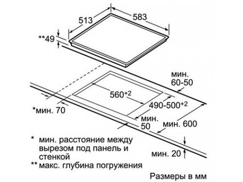 Варочная поверхность Siemens ET645FN17R, вид 2