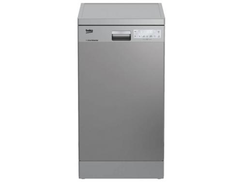 Посудомоечная машина Beko DFS 39020 X серебристая, вид 1