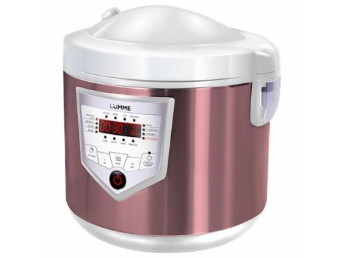 Мультиварка Lumme LU-1446 Chef pro pink/white, вид 1