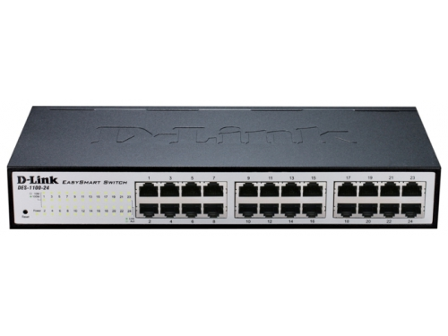 Коммутатор (switch) D-Link DES-1100-24/A2A, вид 1