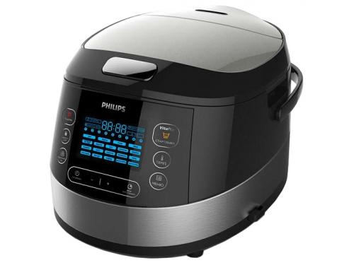 Мультиварка Philips HD4737/03 металл, вид 1