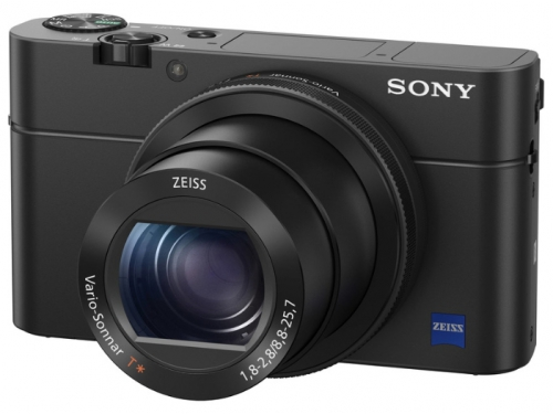 Цифровой фотоаппарат Sony Cyber-shot DSC-RX100 IV (M4), черный, вид 1