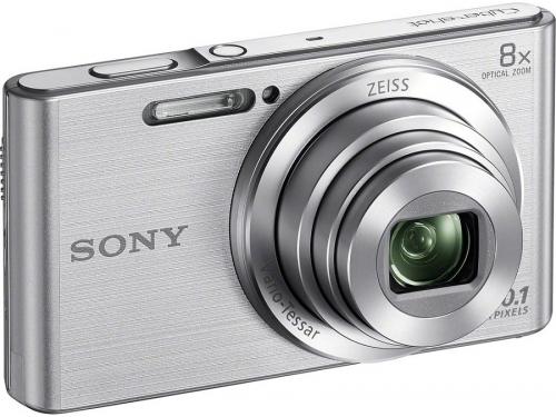 Цифровой фотоаппарат SONY Cyber-shot DSC-W830, серебристый DSCW830S.RU3