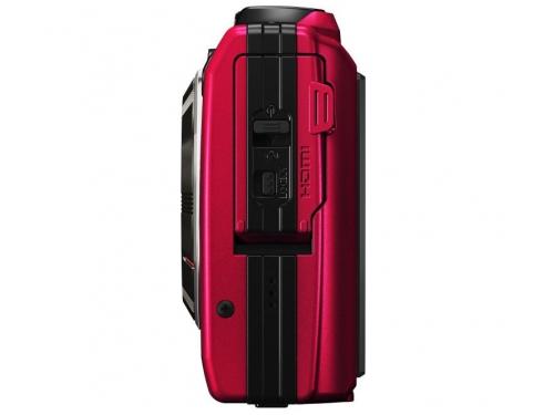 Цифровой фотоаппарат Olympus Tough TG-4, красный, вид 5