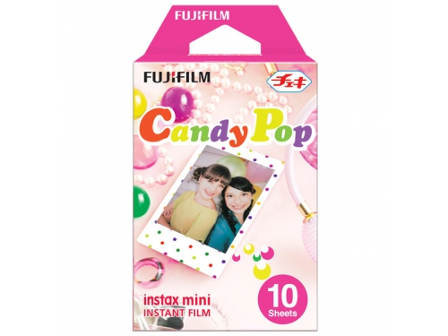 Картридж для фотоаппарата моментальной печати Fujifilm Instax Mini Candypop WW1 10/PK (10 листов), вид 1