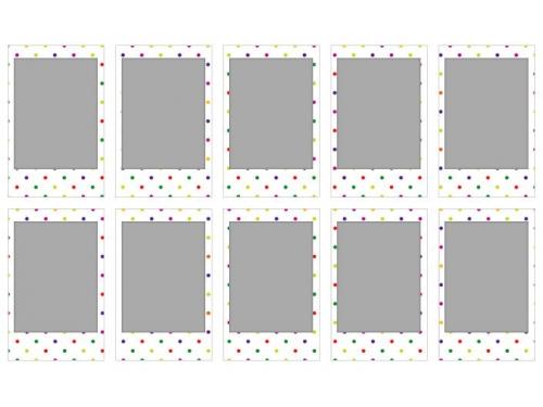 Картридж для фотоаппарата моментальной печати Fujifilm Instax Mini Candypop WW1 10/PK (10 листов), вид 2