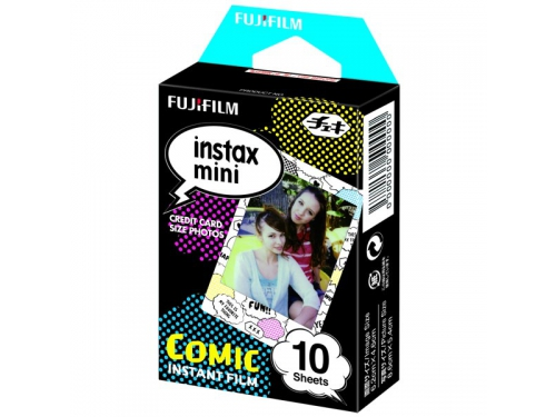 Картридж для фотоаппарата моментальной печати Fujifilm Instax Mini Comic WW1 10/PK (10 листов), вид 1