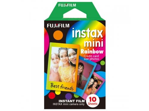 Картридж для фотоаппарата моментальной печати Fujifilm Instax Mini Rainbow WW1 10/PK (10 листов), вид 1