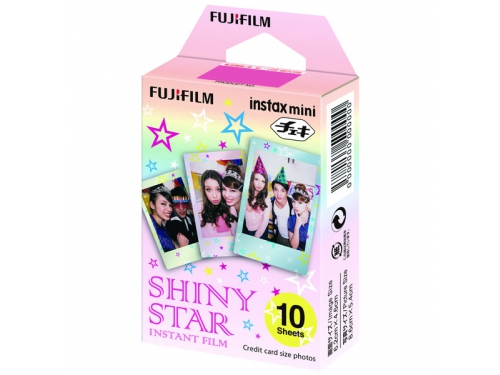 Картридж для фотоаппарата моментальной печати Fujifilm Instax Mini Shiny star WW1 10/PK (10 листов), вид 1