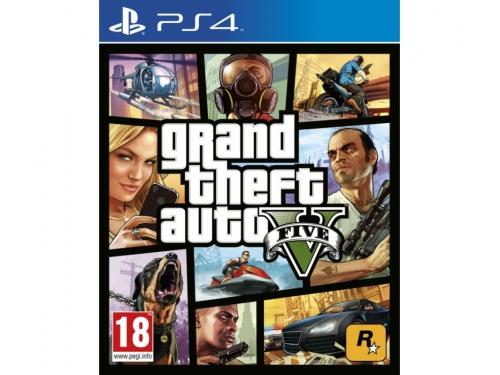 Игра для PS4 Grand Theft Auto V PS4, вид 1