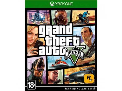 Игра для Xbox One Xbox One Grand Theft Auto V, вид 1