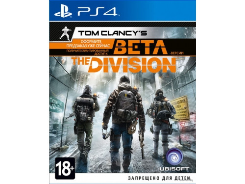 Игра для PS4 Tom Clancy's The Division PS4 , вид 1