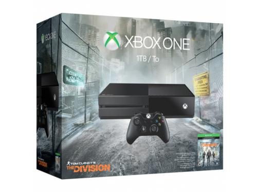 Игровая приставка Microsoft Xbox One 1 ТБ + игра Tom Clancy's The Division, вид 1