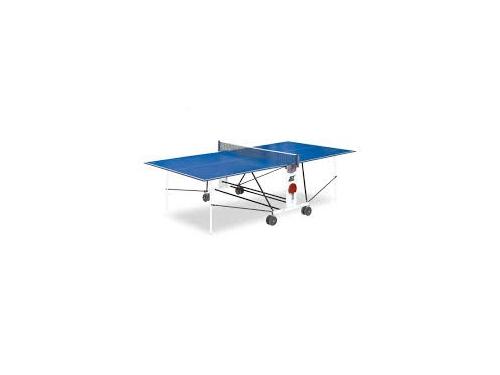 Стол теннисный Start Line Compact Light LX, с сеткой, синий, вид 1