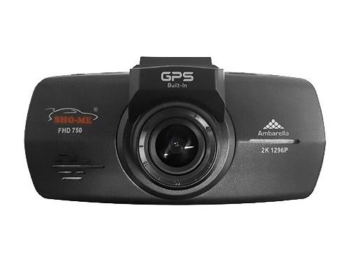 Автомобильный видеорегистратор Sho-Me FHD-750, черный, вид 1