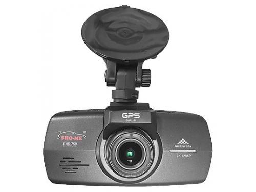 Автомобильный видеорегистратор Sho-Me FHD-750, черный, вид 2