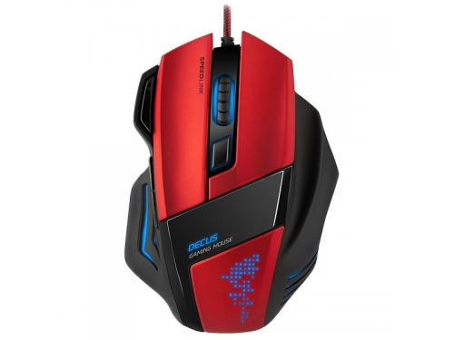 Мышка SPEEDLINK DECUS Gaming Mouse Black USB, вид 1