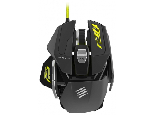Мышка Mad Catz R.A.T. PRO S Gaming Mouse for PC Black USB, вид 1