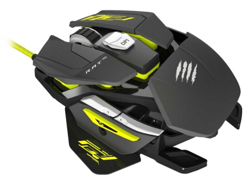 Мышка Mad Catz R.A.T. PRO S Gaming Mouse for PC Black USB, вид 3