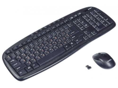 Комплект Sven Comfort 3400 Wireless Black USB (Рус + Укр), чёрная, вид 4
