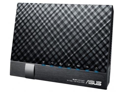 Модем ADSL-WiFi Asus DSL-N17U, вид 2