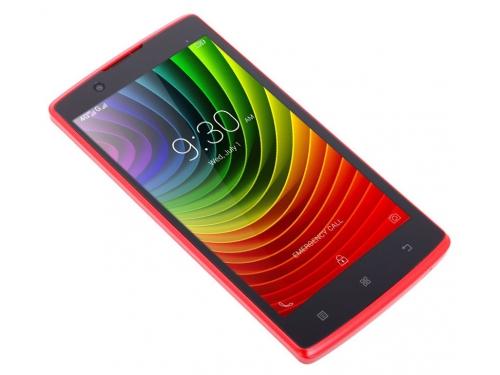 Смартфон Lenovo A2010-A Dual SIM LTE, красный, вид 2