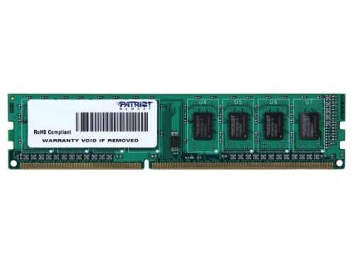 Модуль памяти Patriot DDR3 4096Mb 1600Mhz, вид 1