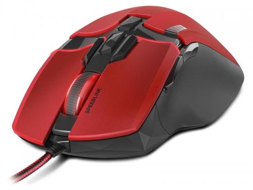 Мышка Speedlink KUDOS Z-9 RED (USB), красная, вид 2