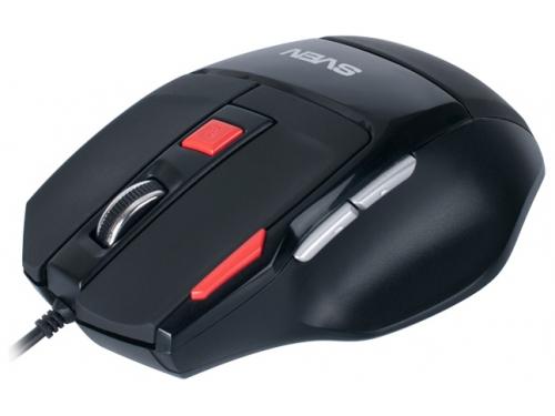 Мышка Sven GX-970 Gaming Black USB, вид 1
