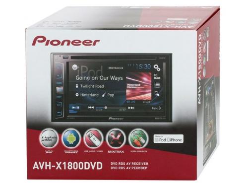 Автомагнитола Pioneer AVH-X1800DVD, вид 3