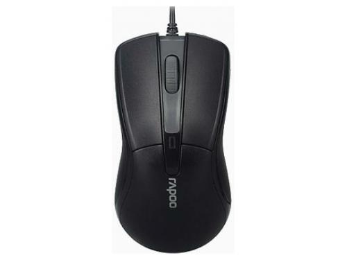 Мышь Rapoo N1162 Black USB, вид 2