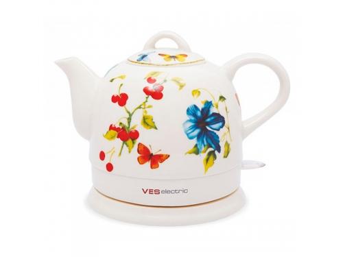 Чайник электрический 1020 (керамика) VES 1020