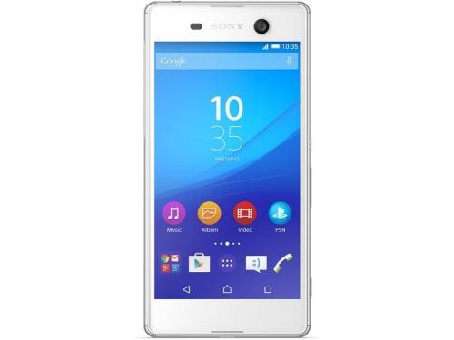 Смартфон Sony E5633 Xperia M5 Dual, белый, вид 1