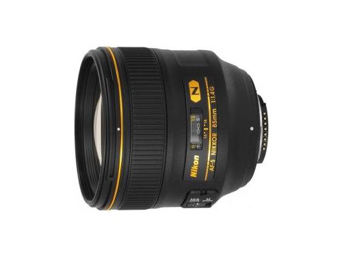 Объектив для фото Nikon 85 mm f/1.4G AF-S Nikkor, вид 1