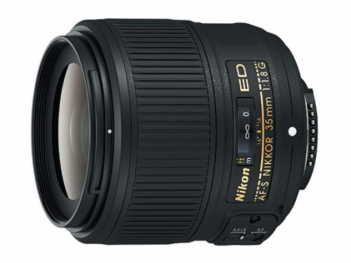 Объектив для фото Nikon 35 mm f/1.8G ED AF-S Nikkor, вид 1