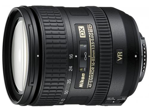 Объектив для фото Nikon 16-85 mm f/3.5-5.6G ED VR AF-S DX Nikkor, вид 1