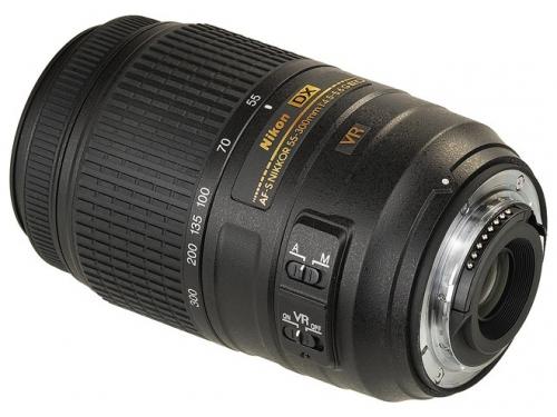 Объектив для фото Nikon 55-300 mm f/4.5-5.6G ED DX VR AF-S Nikkor, вид 3