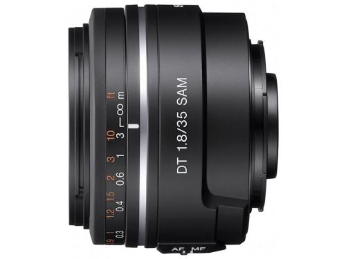 Объектив для фото Sony DT 35mm f/1.8 SAM (SAL-35F18), вид 2