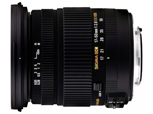 Объектив для фото Sigma AF 17-50mm f/2.8 EX DC OS HSM Nikon F, вид 1