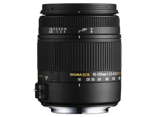 Объектив для фото SigmaAF 18-250mm f/3.5-6.3 DC OS HSM Macro Nikon F, вид 1