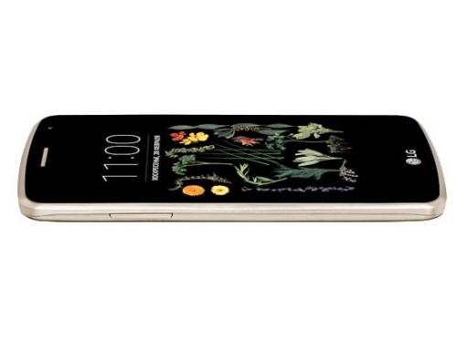 Смартфон LG K5 X220ds, золотистый, вид 4