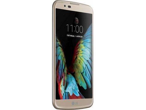 Смартфон LG K10 LTE K430DS, 16Gb, LTE (LGK430DS.ACISKG), золотистый, вид 2
